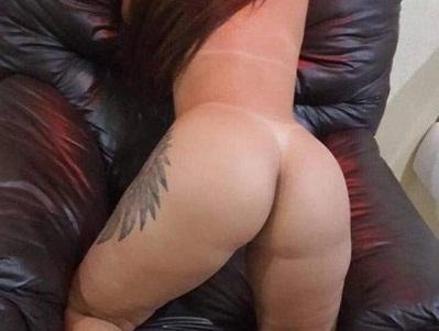 Tatuada exibida no motel